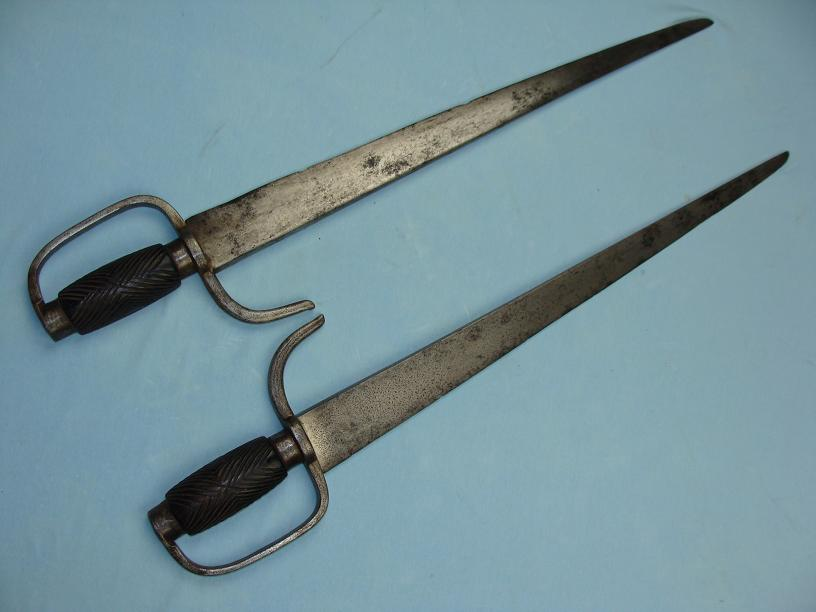 Hudiedao unusual iron guards Early fighting swords www.swordsantiqueweapons.com