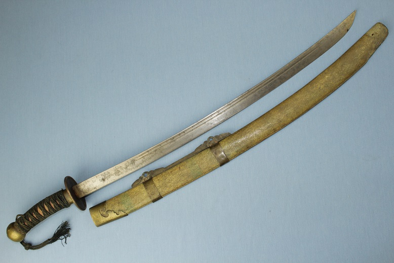 Chinese sabre Qing military sword A fine fighting sword Jian www.swordsantiqueweapons.com