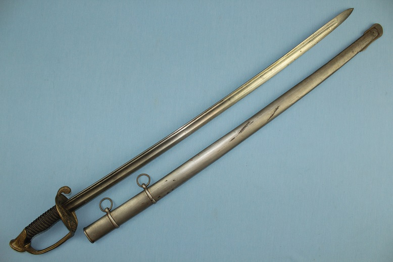 French sabre 1845 pattern Military sword www.swordsantiqueweapons.com