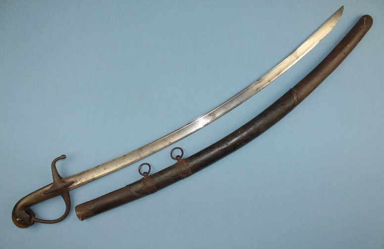 A large Ottoman sabre Hungarian Cavalry sword Complete rare sword www.swordsantiqueweapons.com