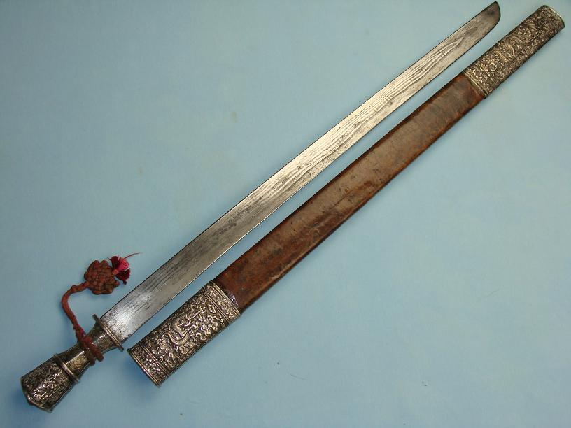 Bhutan sword High quality important sword www.swordsantiqueweapons.com