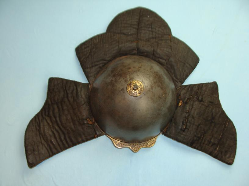 Bhutan Helmet very rare helmet excellent condition www.swordsantiqueweapons.com